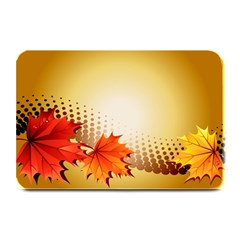 Background Leaves Dry Leaf Nature Plate Mats