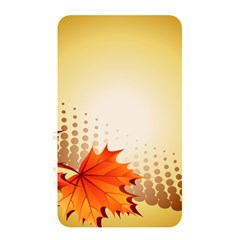 Background Leaves Dry Leaf Nature Memory Card Reader