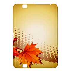 Background Leaves Dry Leaf Nature Kindle Fire HD 8.9