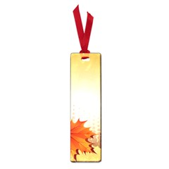 Background Leaves Dry Leaf Nature Small Book Marks