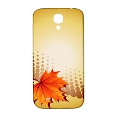 Background Leaves Dry Leaf Nature Samsung Galaxy S4 I9500/I9505  Hardshell Back Case