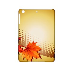 Background Leaves Dry Leaf Nature iPad Mini 2 Hardshell Cases