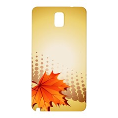 Background Leaves Dry Leaf Nature Samsung Galaxy Note 3 N9005 Hardshell Back Case