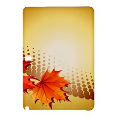 Background Leaves Dry Leaf Nature Samsung Galaxy Tab Pro 10.1 Hardshell Case