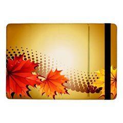 Background Leaves Dry Leaf Nature Samsung Galaxy Tab Pro 10.1  Flip Case