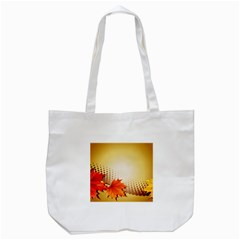 Background Leaves Dry Leaf Nature Tote Bag (White)