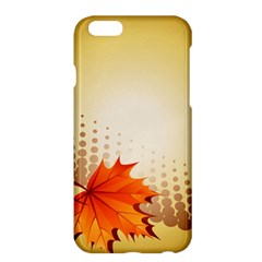 Background Leaves Dry Leaf Nature Apple Iphone 6 Plus/6s Plus Hardshell Case