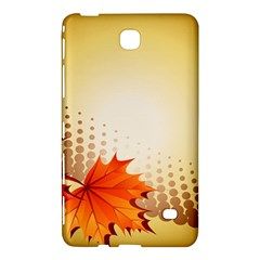 Background Leaves Dry Leaf Nature Samsung Galaxy Tab 4 (7 ) Hardshell Case