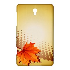 Background Leaves Dry Leaf Nature Samsung Galaxy Tab S (8.4 ) Hardshell Case