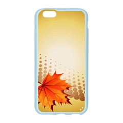 Background Leaves Dry Leaf Nature Apple Seamless iPhone 6/6S Case (Color)
