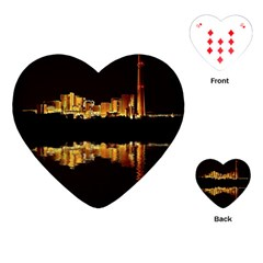 Waste Incineration Incinerator Playing Cards (heart)