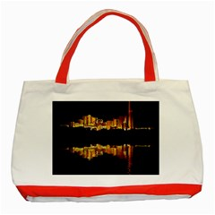 Waste Incineration Incinerator Classic Tote Bag (Red)