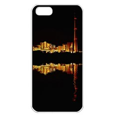 Waste Incineration Incinerator Apple iPhone 5 Seamless Case (White)