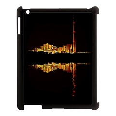 Waste Incineration Incinerator Apple iPad 3/4 Case (Black)