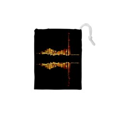 Waste Incineration Incinerator Drawstring Pouches (xs)