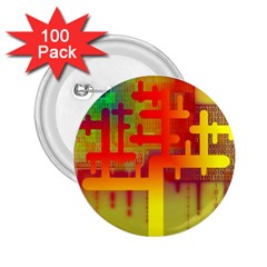 Binary Binary Code Binary System 2.25  Buttons (100 pack)