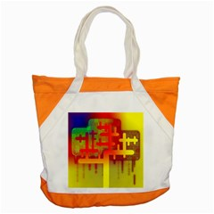 Binary Binary Code Binary System Accent Tote Bag