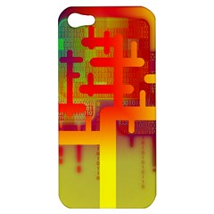 Binary Binary Code Binary System Apple Iphone 5 Hardshell Case