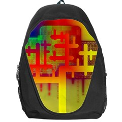 Binary Binary Code Binary System Backpack Bag