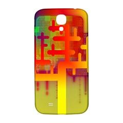 Binary Binary Code Binary System Samsung Galaxy S4 I9500/I9505  Hardshell Back Case