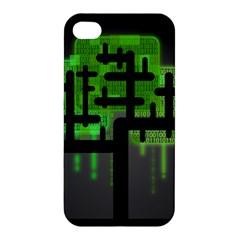 Binary Binary Code Binary System Apple iPhone 4/4S Premium Hardshell Case