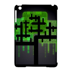 Binary Binary Code Binary System Apple iPad Mini Hardshell Case (Compatible with Smart Cover)