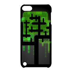Binary Binary Code Binary System Apple Ipod Touch 5 Hardshell Case With Stand
