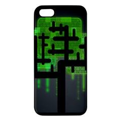 Binary Binary Code Binary System iPhone 5S/ SE Premium Hardshell Case