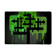 Binary Binary Code Binary System iPad Mini 2 Flip Cases