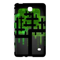 Binary Binary Code Binary System Samsung Galaxy Tab 4 (8 ) Hardshell Case