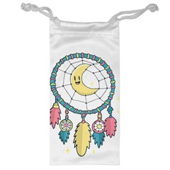 Cute Hand Drawn Dreamcatcher Illustration Jewelry Bag
