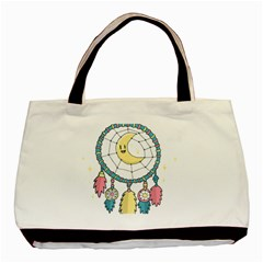 Cute Hand Drawn Dreamcatcher Illustration Basic Tote Bag (Two Sides)