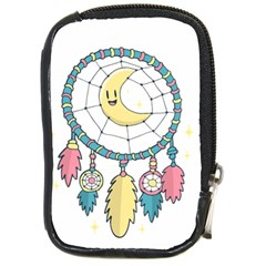 Cute Hand Drawn Dreamcatcher Illustration Compact Camera Cases