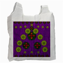 Buddha Blessings Fantasy Recycle Bag (Two Side)
