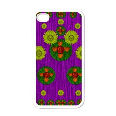 Buddha Blessings Fantasy Apple iPhone 4 Case (White)