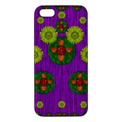Buddha Blessings Fantasy Apple iPhone 5 Premium Hardshell Case