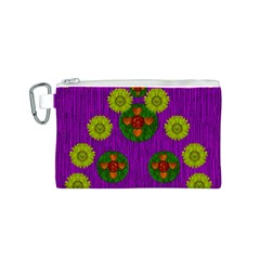 Buddha Blessings Fantasy Canvas Cosmetic Bag (S)