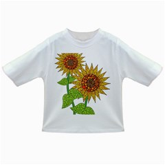 Sunflowers Flower Bloom Nature Infant/toddler T Shirts