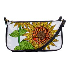 Sunflowers Flower Bloom Nature Shoulder Clutch Bags