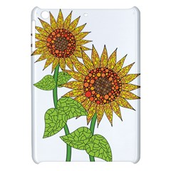 Sunflowers Flower Bloom Nature Apple iPad Mini Hardshell Case