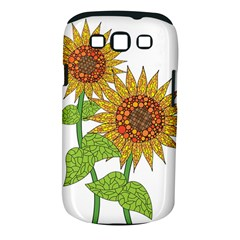 Sunflowers Flower Bloom Nature Samsung Galaxy S III Classic Hardshell Case (PC+Silicone)