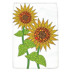 Sunflowers Flower Bloom Nature Flap Covers (l)