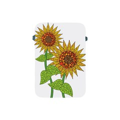 Sunflowers Flower Bloom Nature Apple iPad Mini Protective Soft Cases