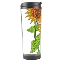 Sunflowers Flower Bloom Nature Travel Tumbler