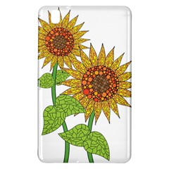 Sunflowers Flower Bloom Nature Samsung Galaxy Tab Pro 8.4 Hardshell Case