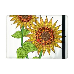 Sunflowers Flower Bloom Nature Ipad Mini 2 Flip Cases