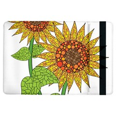 Sunflowers Flower Bloom Nature iPad Air Flip