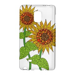 Sunflowers Flower Bloom Nature Galaxy Note Edge
