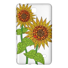 Sunflowers Flower Bloom Nature Samsung Galaxy Tab 4 (7 ) Hardshell Case