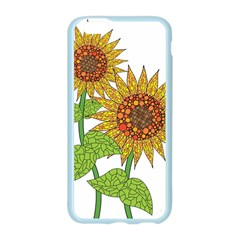 Sunflowers Flower Bloom Nature Apple Seamless iPhone 6/6S Case (Color)